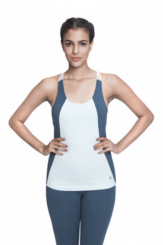 Arhat Fitted Cami Powder Blue