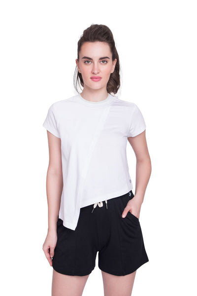 Discovery Layered Tee White