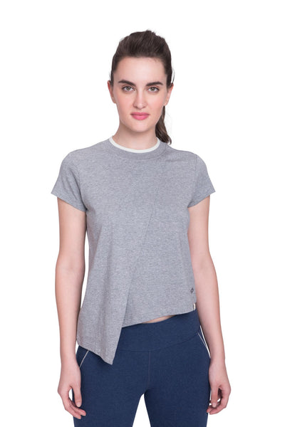 Discovery Layered Tee Heather Grey