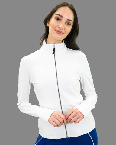 Dhana Jacket in White