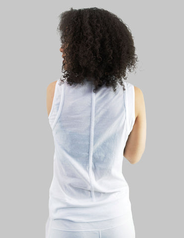 Diedre Tank in White