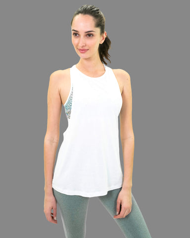 Holi Tank in White
