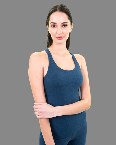 Kama Cami in Blue Heather