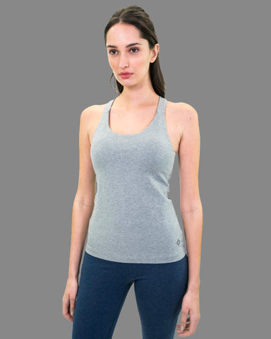 Kama Cami in Heather Grey