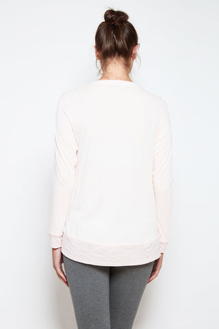 Longsleeve Padma Tee in Blush