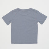 Kid's Graphic Animal Tee in Frost