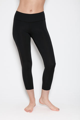 Mudra Capri in Black