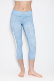 Mudra Capri in Light Blue
