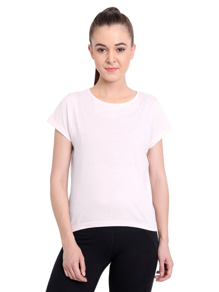 Madison Tee in Blush