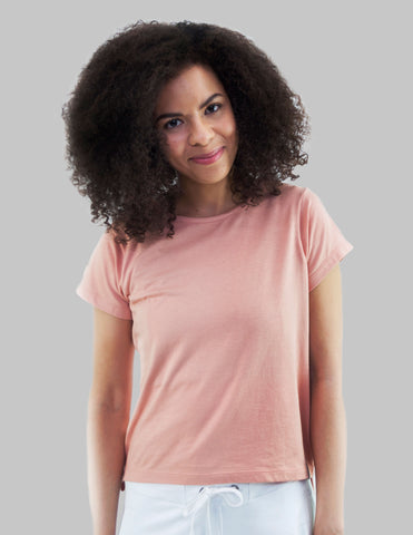 Madison Tee in Apricot