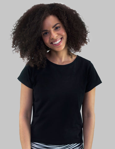 Madison Tee In Black