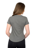 Opal Tee Steel Heather