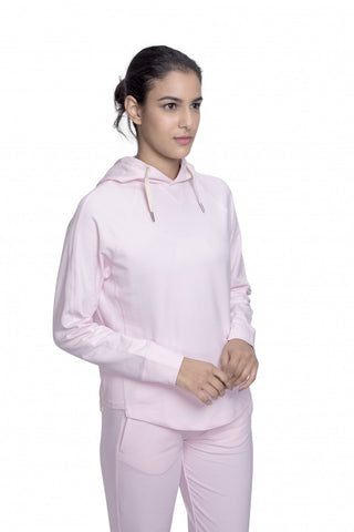 Parama Relaxed Hoodie Pink