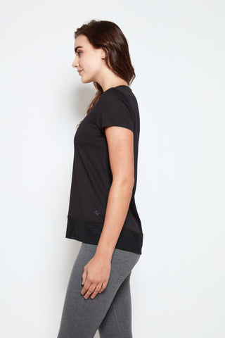 Padma Tee in Black