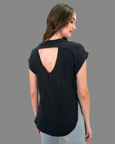Satya Tee in Black