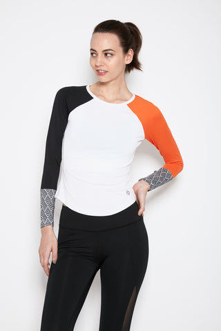 Tarana Top in Orange