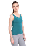 Vida Cami in Green Teal