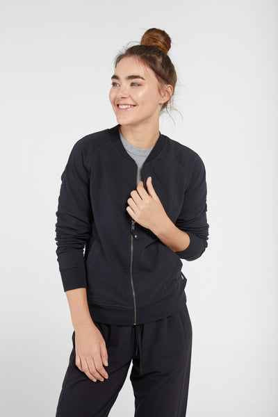 Zen Bomber Jacket Black