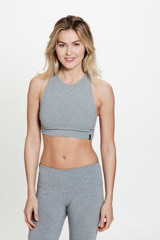 Dina Bralette in Gray