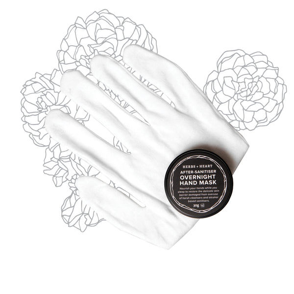 Cotton Overnight Gloves