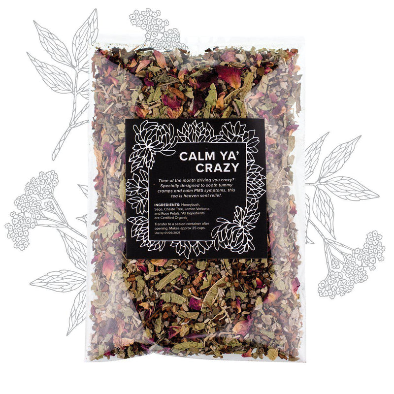 Calm Ya' Crazy Herbal Tea - Herbs & Heart - Natural Australian Skincare