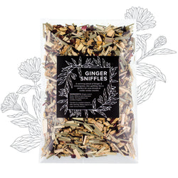 Ginger Sniffles Herbal Tea - Herbs & Heart - Natural Australian Skincare