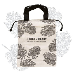 Herbs & Heart Cotton Bag - Herbs & Heart - Natural Australian Skincare