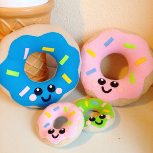 Delicious Donut Plush Cushion