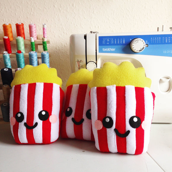 Poppin' Popcorn Plush Cushion