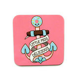 Adorable Anchor Coaster