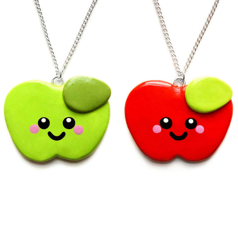 An Apple A Day Necklace