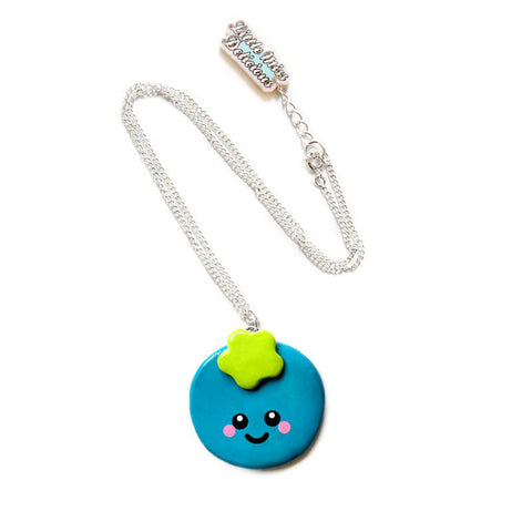 Berry Blueberry Necklace