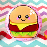 Cheesy Cheeseburger Fridge Magnet