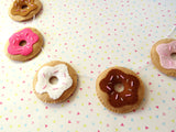 Delicious Donut Felt Garland - Chocolate