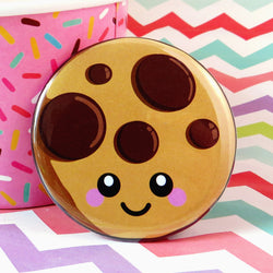 Cute Cookie Fridge Magnet - Happy