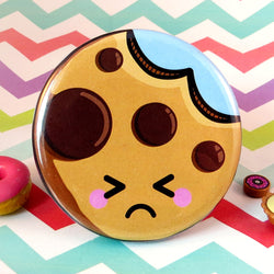 Cute Cookie Fridge Magnet - Sad
