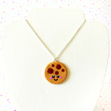 Cute Cookie Necklace - Happy