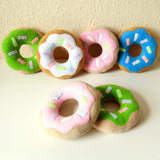 Limited Edition Donut Plush Cushion - Green