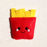 French Fries Felt Accessory
