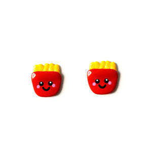 French Fries Stud Earrings
