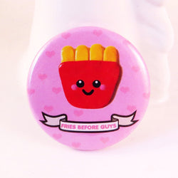 Fries Before Guys Pin Badge