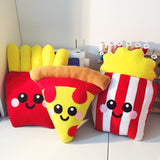 French Fries Plush Cushion