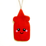 Ketchup Sauce Necklace