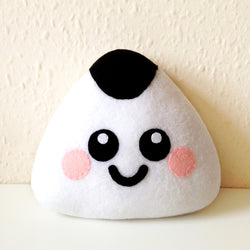 Onigiri Sushi Plush Cushion