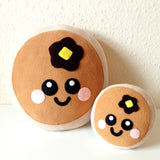 Short Stack Pancake Plush Cushion