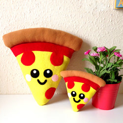 Home Slice Pizza Plush Cushion