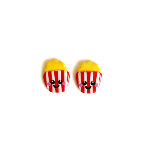 Poppin' Popcorn Stud Earrings