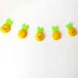 Pretty Pineapple Felt Garland
