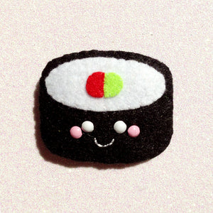 Fun Futomaki Sushi Felt Accessory