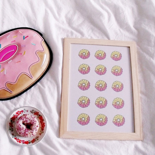 Donut Print - A4 or A5